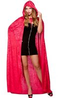 Halloween Cape - Deluxe Red (HF5093)